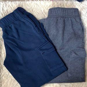 Bundle 2 Reebok cargo sweat pants